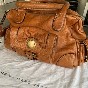 MARC by Marc Jacobs tan leather doctors bag